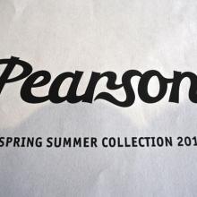 2016  Pearson  春夏モデル ご予約受付中